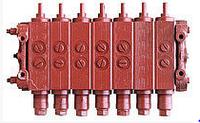 Гидрораспределитель ГА-34000В мускульный 7-секций