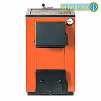 Котел твердотопливный с плитой MaxiTerm 14 П (14 кВт, 120 кв.м)