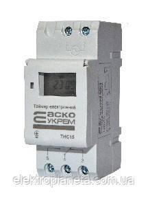 Таймер тижневий електронний THC15-TC