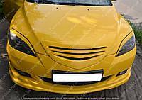 Решетка радиатора Мазда 3 BK хэтчбек (тюнинг решетка на Mazda 3 5d дорестайл)