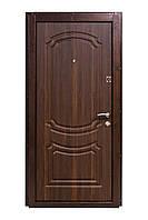 Входная металлическая дверь 801 орех моренный