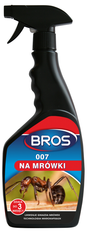 Спрей для уничтожения муравьев и других ползающих насекомых BROS 500мл