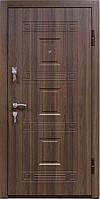 Входная металлическая дверь 802 орех белоцерковский