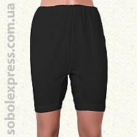 Панталоны женские летние длинные черные