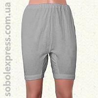 Панталоны женские летние длинные серые