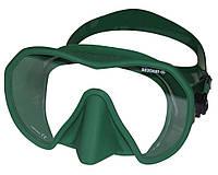Подводная маска Beuchat Maxlux; зелёная