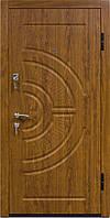 Входная металлическая дверь 808 дуб золотой