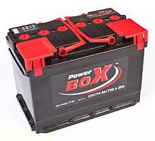 Аккумулятор Power Box 50Ah-12v (215x175x190) правый +