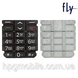 Клавиатура для Fly EZZY 4, черная, оригинал