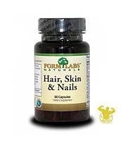 Витамины Hair, Skin & Nails от Form Labs 60 капс.