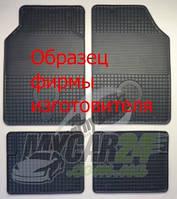 Gumarny Zubri Коврики резиновые в салон Opel CORSA D (2006-2014) - 2 шт.
