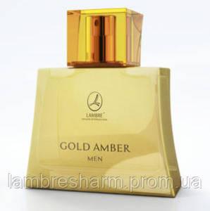 Туалетная вода мужская GOLD AMBER MEN