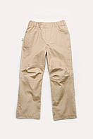 Детские летние брюки для мальчика (бежевые)