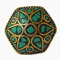 Кольцо с бирюзой из Непала
