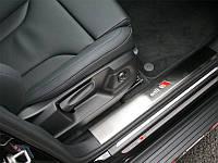 Внутренние накладки на пороги S/S для Audi Q5 2012+ (BKT-Q5-P22)