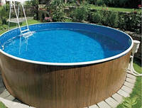 Морозоустойчивый круглый каркасный бассейн Azuro 400DL 3,6 м х 1,07 м