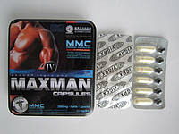 Maxmen IV (МаксМэн)  препарат для повышения потенции, продления полового акта и увеличения пениса (12 капсул упаковка)
