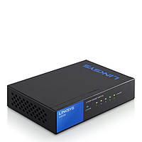 Коммутатор LINKSYS LGS105-eu / SWITCH, GIGABIT, UNMANAGED, 5-PORT неуправляемый