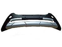 Накладки на бампер передние Toyota RAV4 2013+ (BKT-RV-B31)