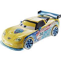 Cars  CDR31 CDR25 машинка Jeff Gorvette из м/ф  Гонки на Льду, Mattel, фото 1