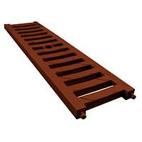 Решетка 0,5м ПВХ А15, система 1000/63/98/148 коричневый
