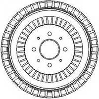 PL 6220 = DB4024 = JR 329013J Тормозной барабан PILENGA 01-07                     SP