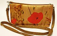 Женская сумочка Маки рыжая