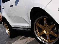 Пороги BMW Style для KIA Sportage 2010+ (BKT-KSP-S01)
