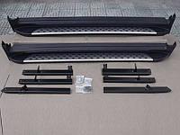 Пороги ML Style для Nissan X-Trail 2014 (BKT-NX-S41)