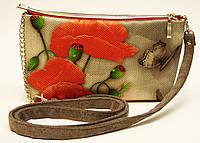 Женская сумочка Маки с бабочкой