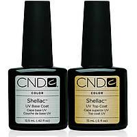 База и топ CND Shellac