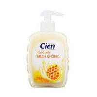 Жидкое мыло для рук Cien  Leche&Miel 0,500 мл.