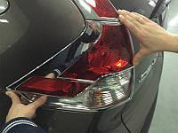Хром задних фар Honda CRV 2012+ (BKT-CRV-L22)