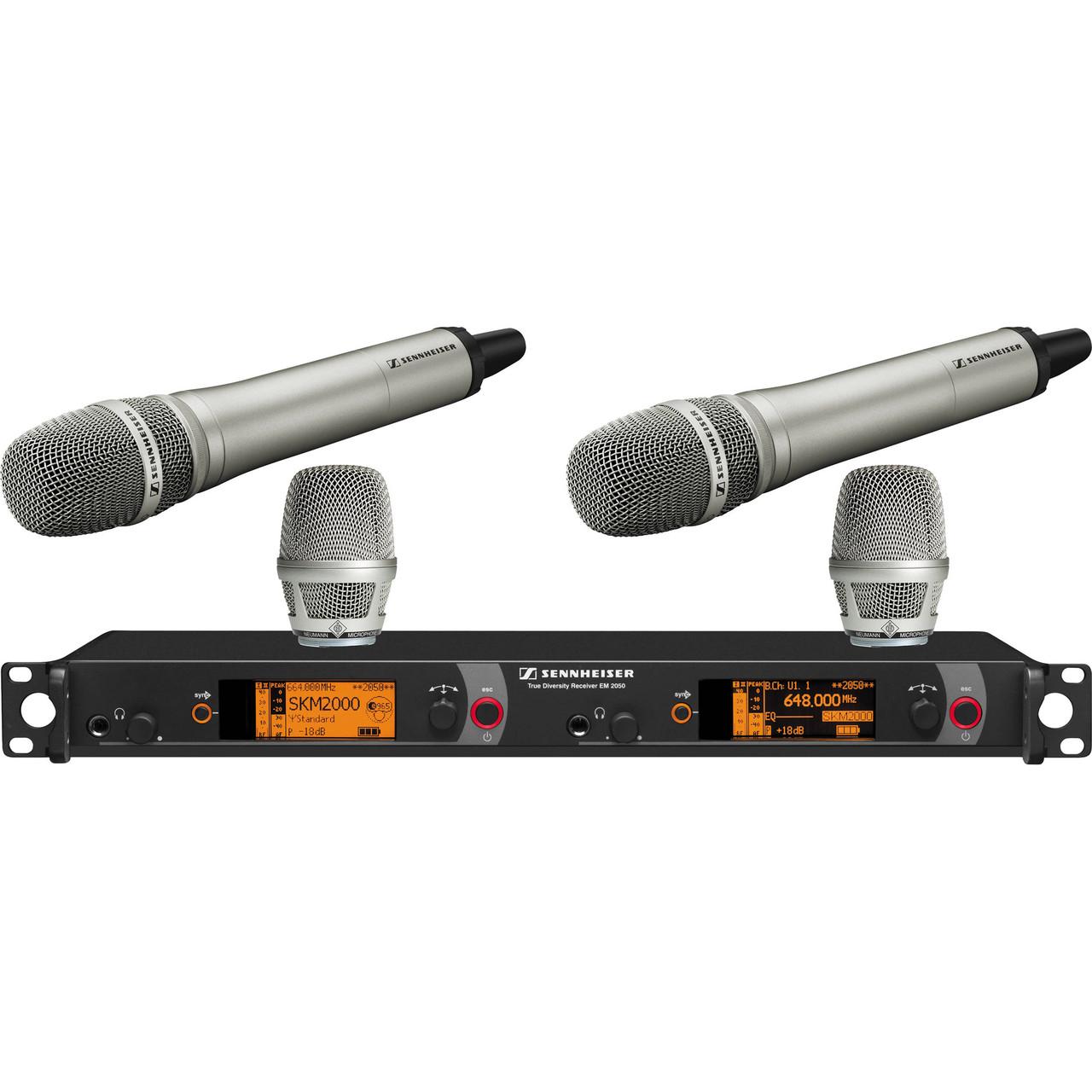 Беспроводная система Sennheiser 2000 Series Dual KK 204 Bw / 626 - 698MHz (2000H2-204NI-B)