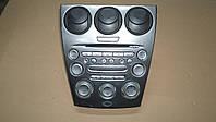 Центральная консоль, CD проигрыватель, эбу климат от Mazda 6, 2.0i, 2004 г.в. GJ6A66DSX02, FF011068B8