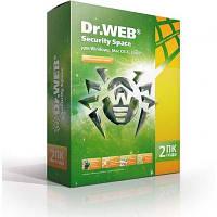 Программная продукция Dr. Web Security Space 10, 2 ПК 2 года (BHW-B-24M-2-A3)
