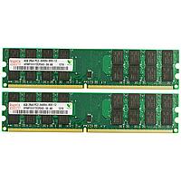 Модуль памяти Hynix DDR2 800Mhz 4Gb 4Rx4 PC2-6400U-800-12 комплект 2шт. для AMD