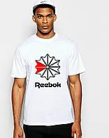 Стильная Мужская футболка Рибок Reebok коттон