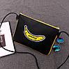 Женская сумочка с рисунком банана