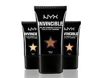 Жидкая тональная основа NYX Invincible Fullest Coverage  ( Нюкс)