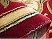 """Синтетический прямоугольный ковер """"Искусство""""  Lotos Karat , цвет красный, фото 3"""