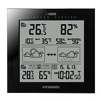 Метеостанция Hyundai WS 2244B черная