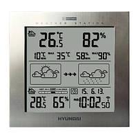 Метеостанция Hyundai WS 2244М серебряная