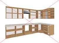 Предлагаем купить отдельно мебельные фасады МДФ или из дерева.