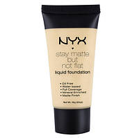 Тональная основа NYX Stay Matte But Not Flat ( Нюкс Матте)