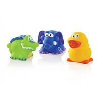 Веселые игрушки для купания Nuby