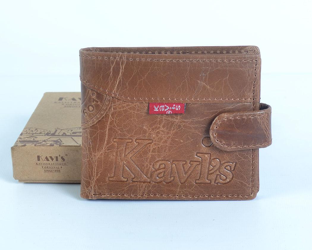 Чоловічий шкіряний  гаманець  Kavi`s