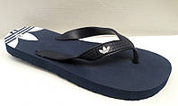 Шлепанцы женские/подростковые Adidas синие AD0049
