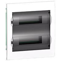 Щит распределительный встраиваемый 24 модуля прозрачная дверь Easy9 EZ9E212S2F