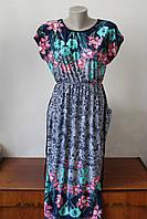 Платье женское с цветочным узором - 2, фото 1